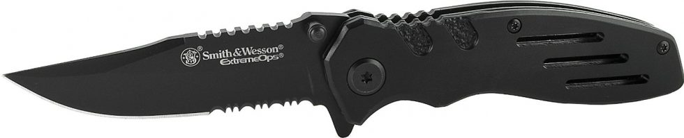 Smith & Wesson Extreme Ops SWA24S Liner Lock Folding Knife